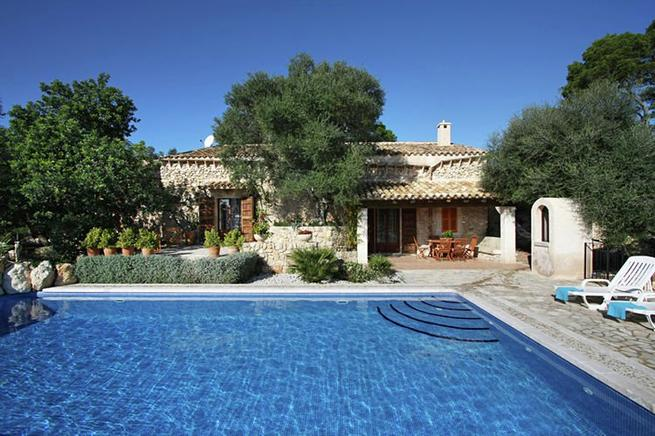 Luxuri ses ferienhaus f r 6 personen in sineu mallorca - Formentera ferienhaus mit pool ...