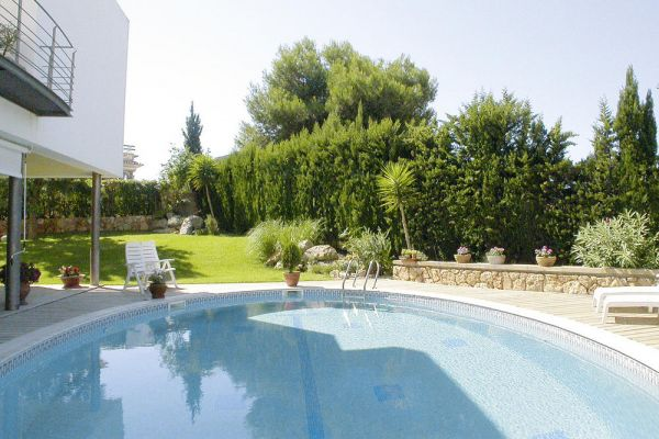 Ferienhaus mit Pool in Llucmajor, Mallorca - Pool