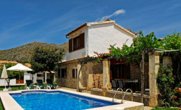 Ferienhaus mit Pool in Port de Pollenca, Mallorca, Pool