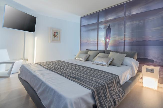 Ferienwohnung Mallorca Am Strand Personen Puerto DAlcúdia - Mallorca urlaub appartement 2 schlafzimmer