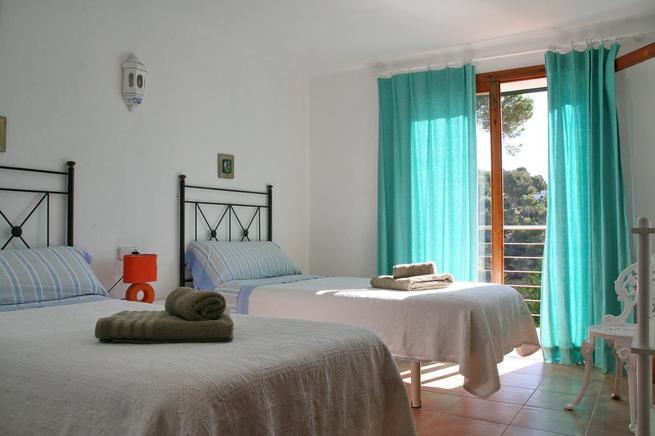 Ferienwohnung Mallorca Meerblick Personen Cala Santanyí - Mallorca urlaub appartement 2 schlafzimmer