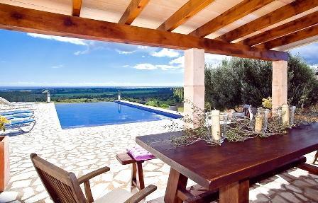 Finca 8 personen portocolom ferienhaus mallorca for Kapfer pool design mallorca