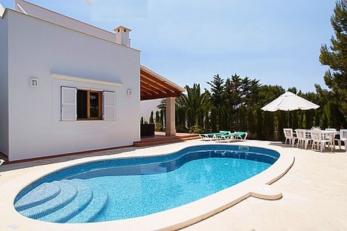 Ferienhaus mit Pool in Cala d'Or, Mallorca - Pool