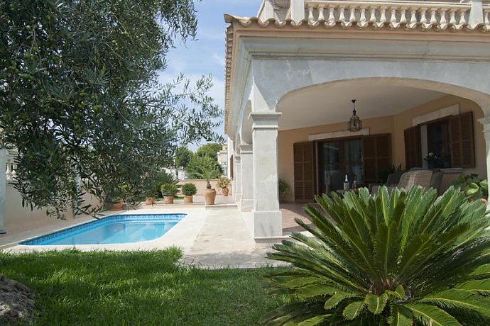 Ferienhaus mit Pool in Son Serra De Marina, Mallorca, Pool
