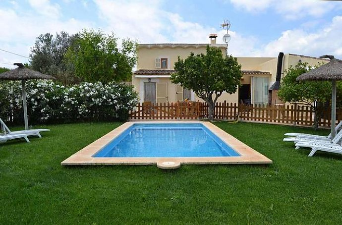 Ferienhaus mit Pool in Manacor, Mallorca, Pool